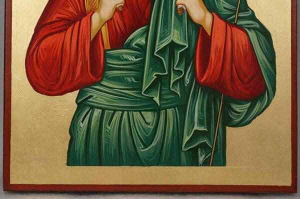 Jesus Christ the Good Shepherd Hand Painted Orthodox Icon