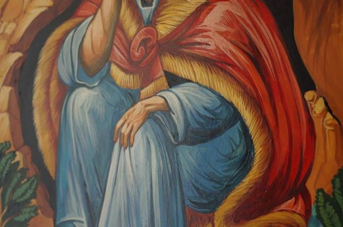 Prophet Elijah Hand-Painted Icon
