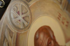 Saint Nikolaos (Nicholas) Hand-Painted Icon