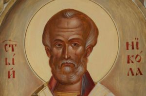 Saint Nikolaos (Nicholas) Hand-Painted Icon
