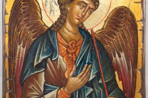 Archangel Michael Hand-Painted Icon