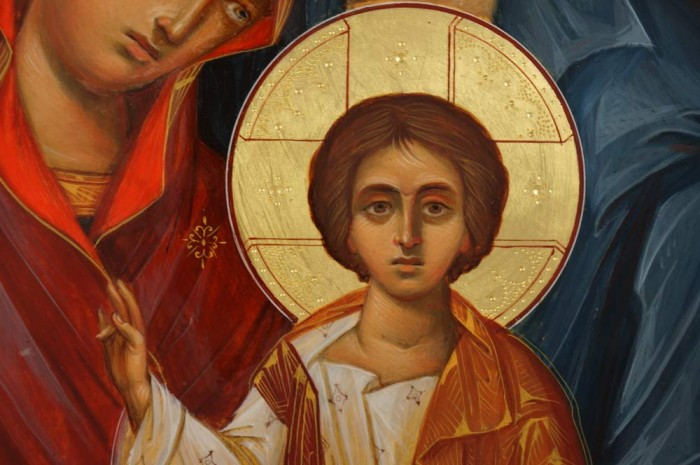 Holy Family Hand-Painted Icon
