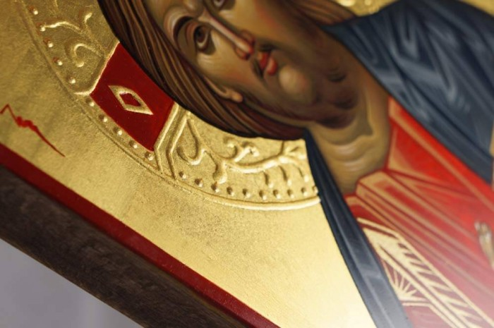 Christ Pantokrator Hand-Painted Icon