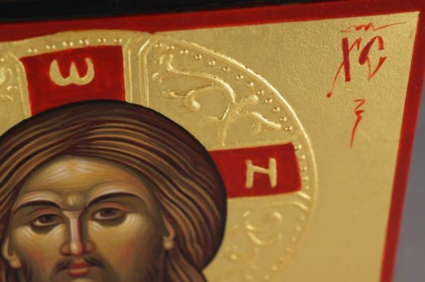 Jesus Christ Hand-Painted Icon