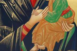Perpetual Help Hand-Painted Icon