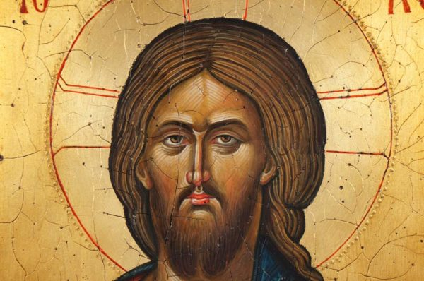 Pantocrator Hand-Painted Icon