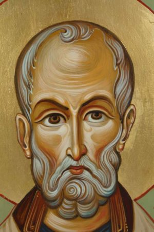Saint Nicholas Hand-Painted Icon