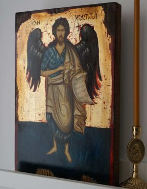 John the Baptist (full body) Hand-Painted Orthodox Icon