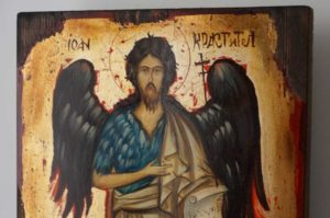 John the Baptist (full body) Hand-Painted Orthodox Icon