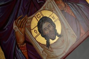 St Veronica Hand-Painted Icon