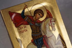 St George Hand-Painted Icon