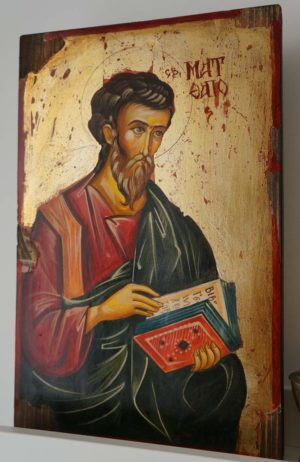 Saint Matthew the Apostle Icon