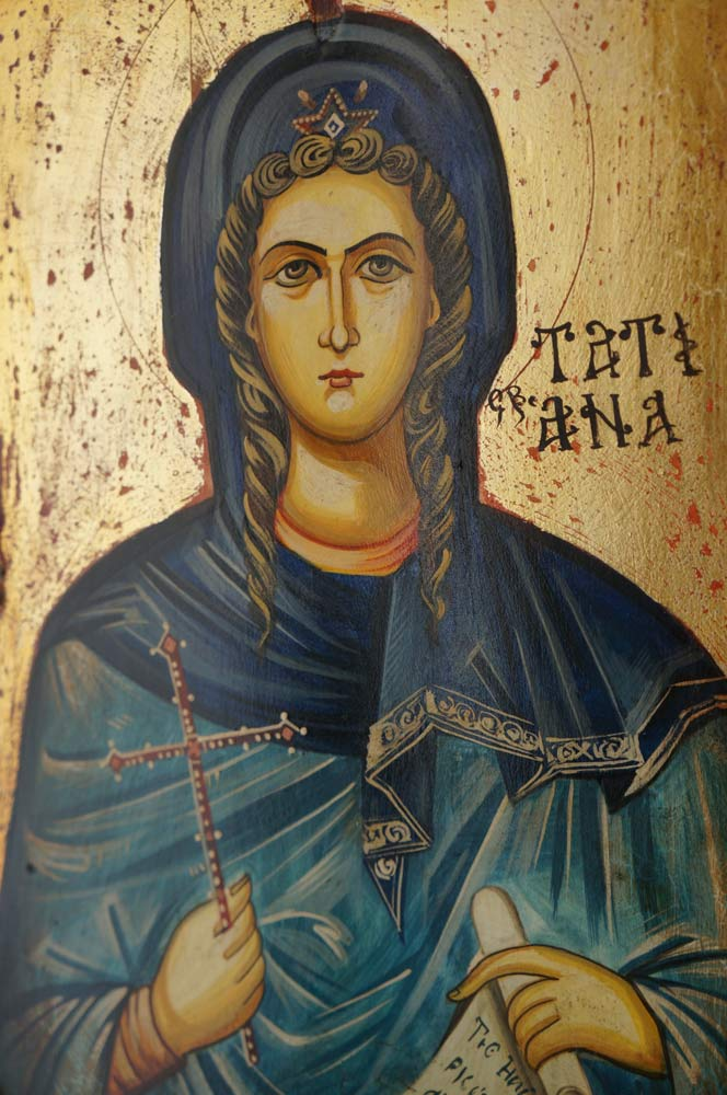 Saint Tatiana Hand-Painted Icon