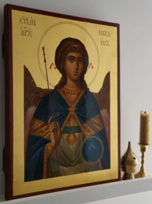 Holy Archangel Michael Hand-Painted Icon