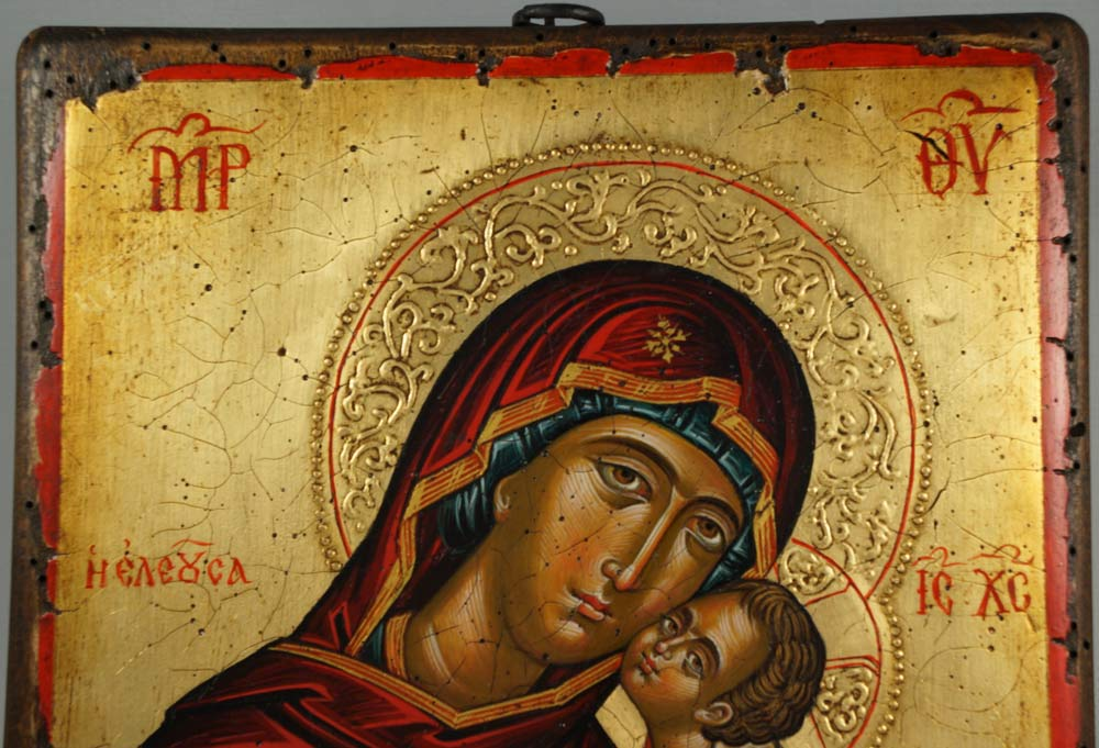 Theotokos Tenderness Hand-Painted Icon