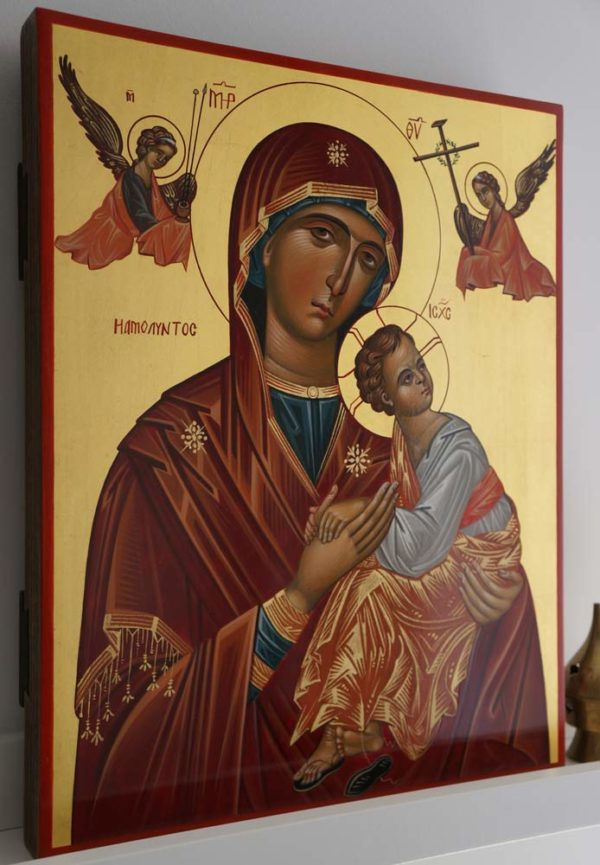 Theotokos of the Passion Hand-Painted Icon