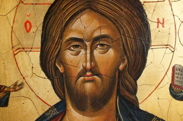 Jesus Christ Pantocrator Mount Athos Icon