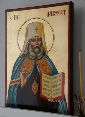 St Innocent of Moscow Hand-Painted Orthodox Icon