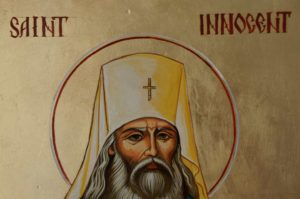 St Innocent of Alaska Hand-Painted Orthodox Icon