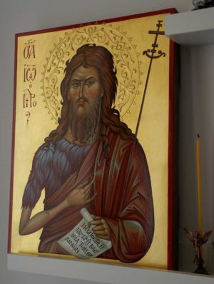 St John the Baptist Hand-Painted Icon