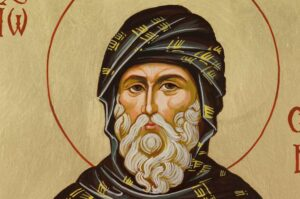 St John of Damascus Hand Painted Orthodox Icon on Wood