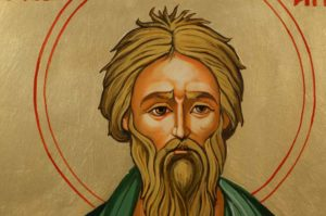 Hand-Painted Orthodox Icon of Apostle Andrew the First Called