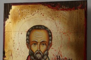 St Nikolaos Hand-Painted Orthodox Icon