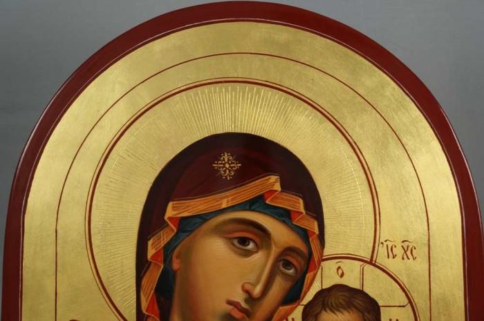 Kazanskaya Mother of God Hand-Painted Icon