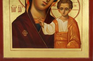 Kazanskaya Mother of God Hand-Painted Icon