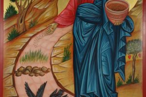 Jesus Christ the Sower Hand-Painted Byzantine Icon