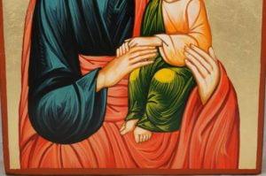 Saint Joseph Hand-Painted Orthodox Icon
