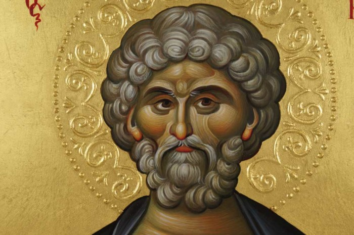 Saint Menas Hand-Painted Orthodox Icon