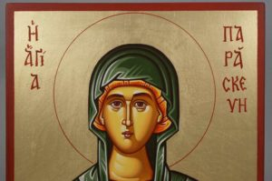 Saint Paraskevi Petka Hand-Painted Orthodox Icon