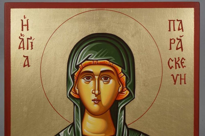 Saint Paraskevi Petka Hand-Painted Orthodox Icon