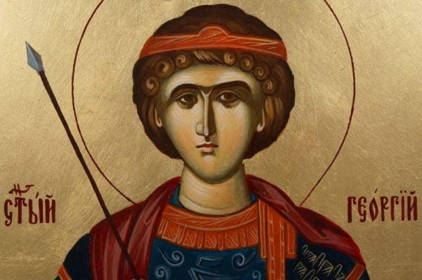 St George (Mount Athos) Hand-Painted Greek Orthodox Icon