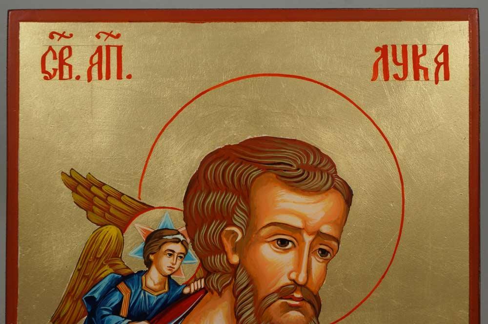 Apostle Luke the Iconographer Hand-Painted Orthodox Icon