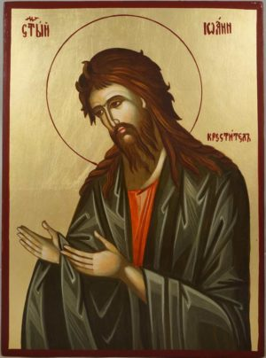 St John the Baptist Hand-Painted Orthodox Icon
