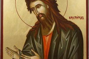 St John the Baptist Hand-Painted Orthodox Icon