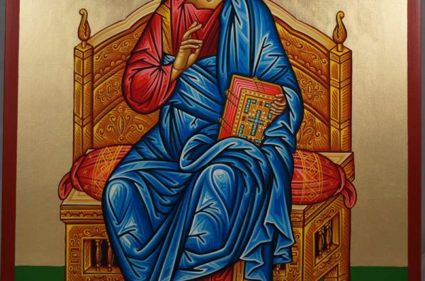 Great High Priest Hand-Painted Byzantine Icon