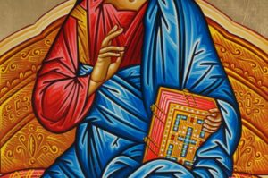 King of Kings Hand-Painted Byzantine Icon