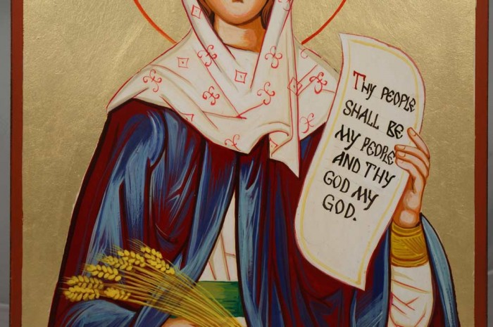Holy Foremother Ruth Hand-Painted Icon