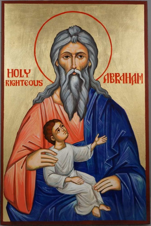 Holy Righteous Abraham Hand-Painted Orthodox Icon
