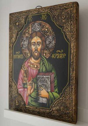 Pantokrator Hand-Painted Orthodox Icon