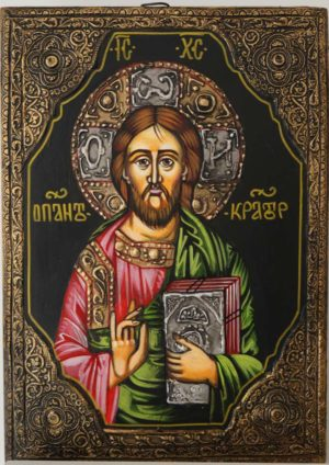 Pantokrator Hand-Painted Orthodox Icon