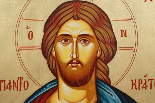 Christ Ruler of All Hand-Painted Greek Orthodox Icon