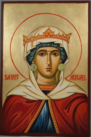 Saint Abigail Hand-Painted Orthodox Icon