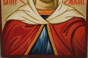 St Abigail Hand-Painted Orthodox Icon