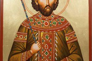 Emperor St Constantine XI Hand-Painted Orthodox Icon