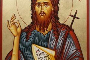 St Prophet John Forerunner Hand-Painted Icon
