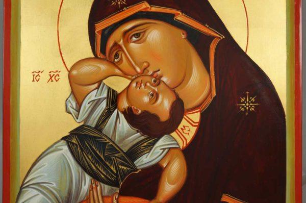 Panagia Pelagonitissa Hand-Painted Byzantine Icon